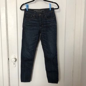 American Eagle vintage high rise jeans